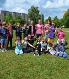 Mokiniai susitiko su jaunaisiais Klaipėdos kinologais