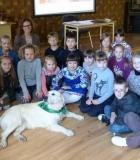 Vaikai laukia užsiėmimų su šunimis