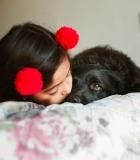 Būkim atidūs: šunų ir vaikų nuotraukos