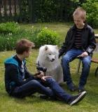 """Paskaita visuomenei """"Vaikas ir šuo"""""""