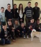 Užsiėmimai su šunimis Žemaitijos mokyklose
