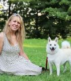 Norvegų buhundas gavo terapinio šuns pažymėjimą