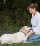 Pasiruošimas terapinio šuns egzaminui užtruko metus