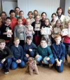 Taujėnų vaikai mokėsi pagarbaus elgesio su šunimis